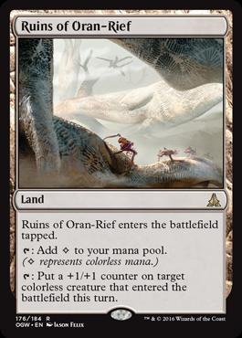 Ruins of Oran-Rief