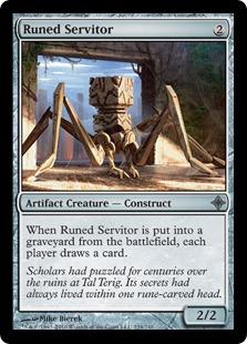 Runed Servitor (FOIL)