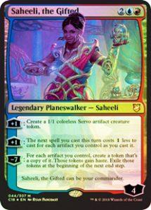 Saheeli, the Gifted (FOIL)