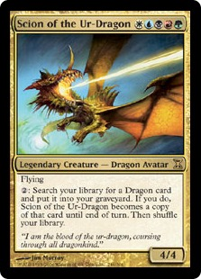 Scion of the Ur-Dragon (FOIL)