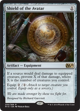 Shield of the Avatar (FOIL)