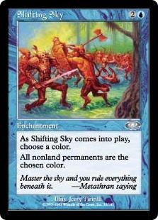 Shifting Sky