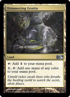 Shimmering Grotto (FOIL)