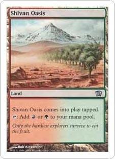 Shivan Oasis (FOIL)