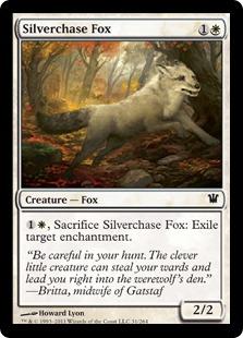 Silverchase Fox (FOIL)