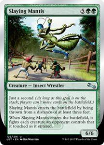 Slaying Mantis