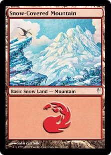 Snow-Covered Mountain