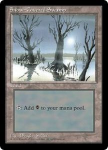 Snow-Covered Swamp (PLAYED)