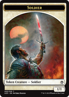 Soldier Token (Masters 25)