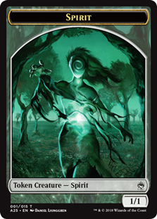 Spirit Token - Colourless (Masters 25)