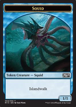 Squid token - M15