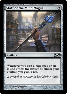 Staff of the Mind Magus (FOIL)