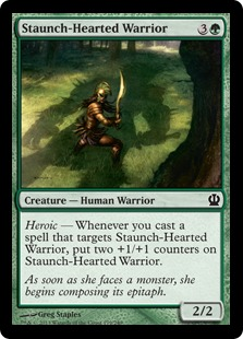 Staunch-Hearted Warrior (FOIL)