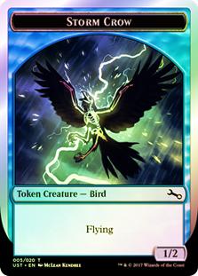 Storm Crow Token - 005/020 (Unstable)