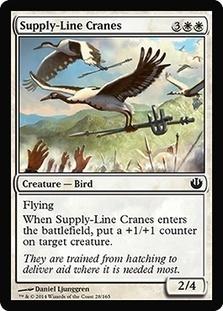 Supply-Line Cranes (FOIL)