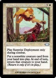 Surprise Deployment