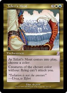 Teferi's Moat (FOIL)