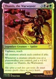 Thantis, the Warweaver (FOIL)