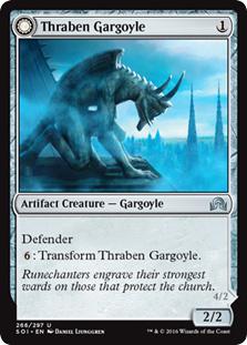 Thraben Gargoyle - Stonewing Agonizer