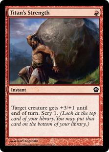 Titan's Strength (FOIL)