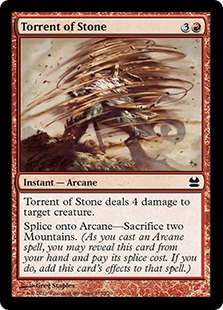 Torrent of Stone (FOIL)