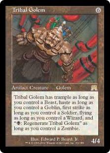 Tribal Golem