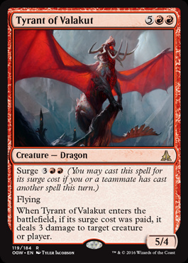 Tyrant of Valakut (FOIL)