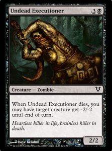 Undead Executioner (FOIL)