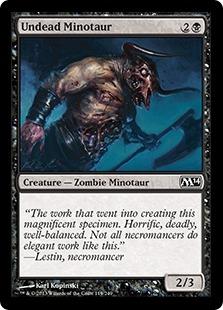 Undead Minotaur (FOIL)