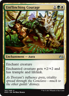 Unflinching Courage (FOIL)