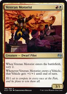 Veteran Motorist (FOIL)