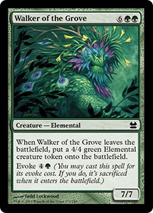 Walker of the Grove (FOIL)