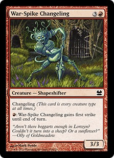 War-Spike Changeling (FOIL)