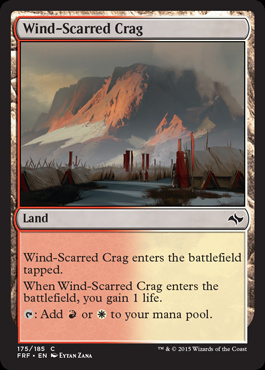 Wind-Scarred Crag (FOIL)