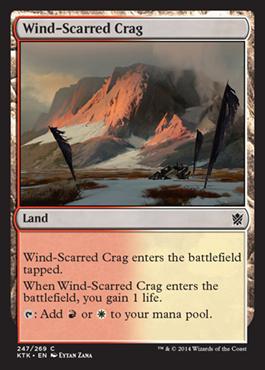 Wind-Scarred Crag (FOIL)