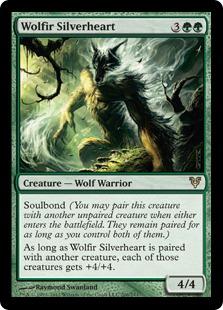 Wolfir Silverheart (FOIL)