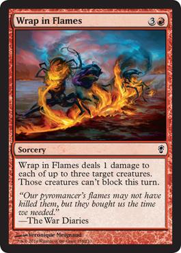 Wrap in Flames (FOIL)