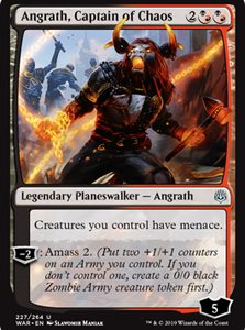Angrath, Captain of Chaos (FOIL)
