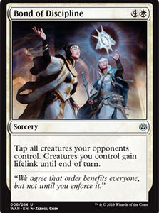 Bond of Discipline (FOIL)