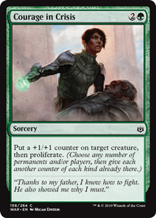 Courage in Crisis (FOIL)