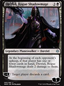 Davriel, Rogue Shadowmage (FOIL)