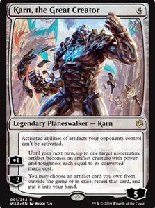 Karn, the Great Creator (FOIL)