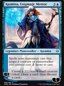 Kasmina, Enigmatic Mentor (FOIL)