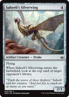 Saheeli's Silverwing (FOIL)