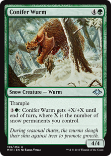 Conifer Wurm (FOIL)