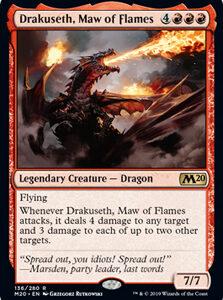 Drakuseth, Maw of Flames (FOIL)