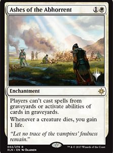 Ashes of the Abhorrent (Promo Pack) (FOIL)