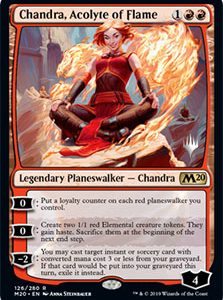 Chandra, Acolyte of Flame (Promo Pack)