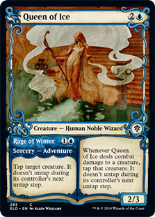 Queen of Ice (Showcase) (FOIL)