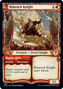 Rimrock Knight (Showcase) (FOIL)